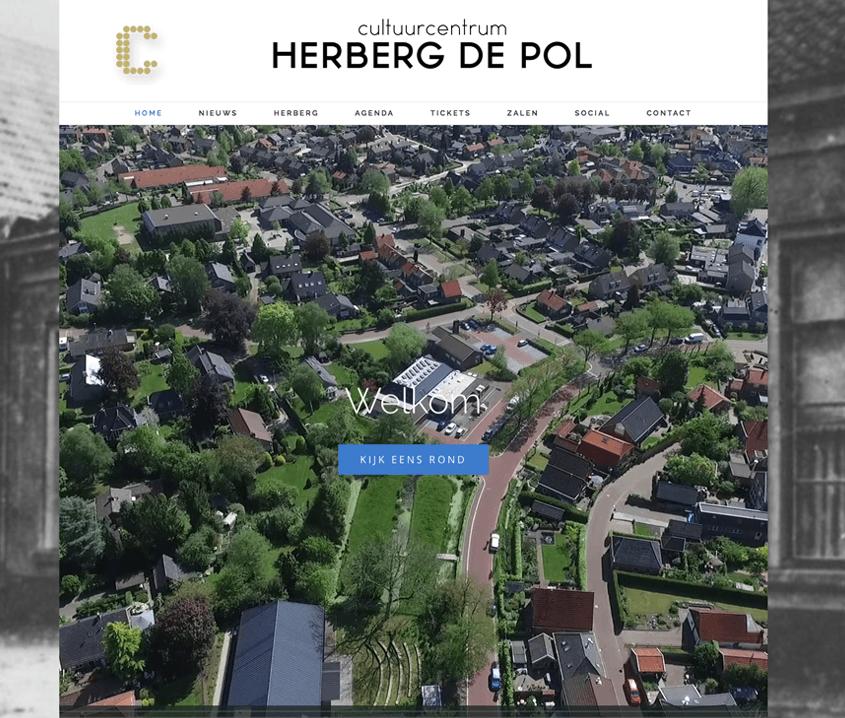 Nieuwe website Herberg de Pol Diepenheim